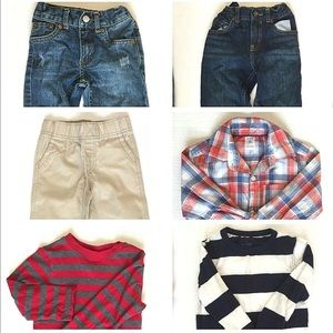 Lot of Toddlers Boys Tops & Bottoms 3T